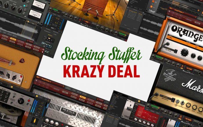 IK Multimedia Stocking Stuffer Krazy Deal