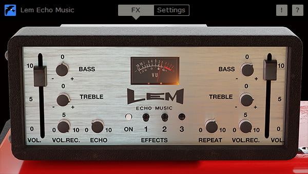 Martinic Lem Echo Music GUI