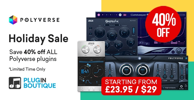 Polyverse Holiday Sale 40