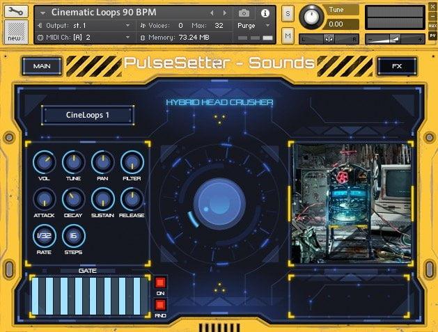 PulseSetter Sounds Hybrid Head Crusher