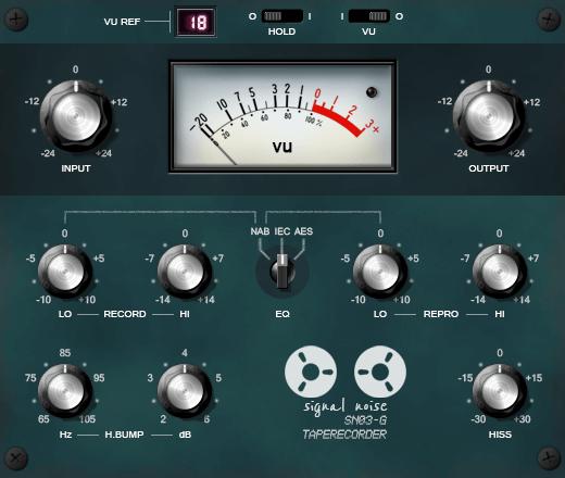 Sender Spike Signal Noise SN03 G Tape Recorder