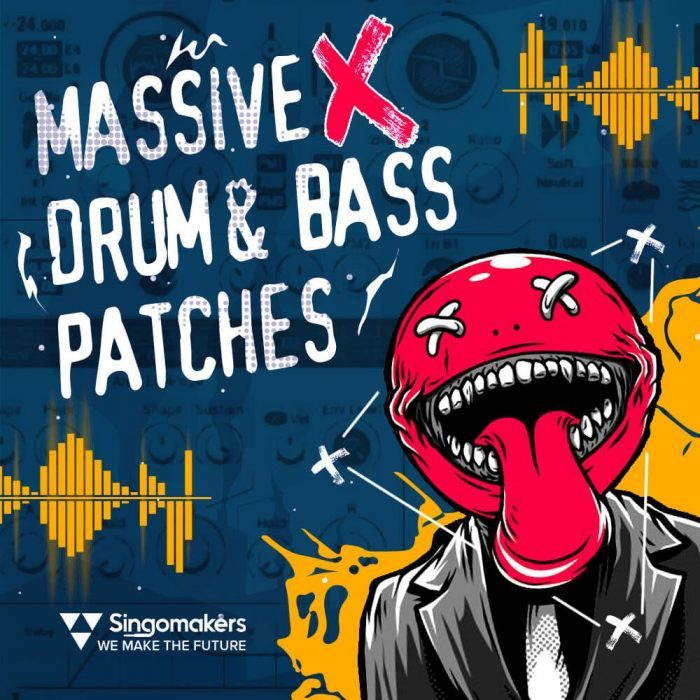 Singomakers Massive X Drum and Bass Patches