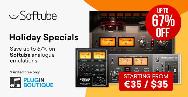 Softube Holiday Sale 2019