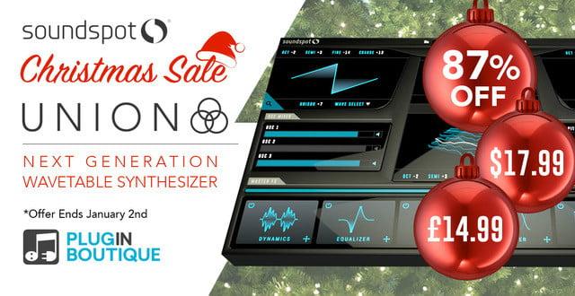 SoundSpot Union Christmas Sale