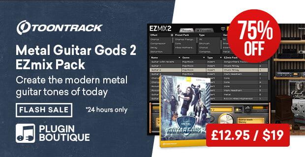 Toontrack Metal Guitar Gods 2 EZmix Sale