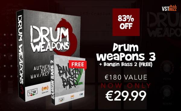 VST Buzz Drum Weapons 3