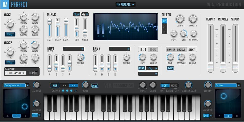 W A  Production releases ImPerfect synth with analog-style