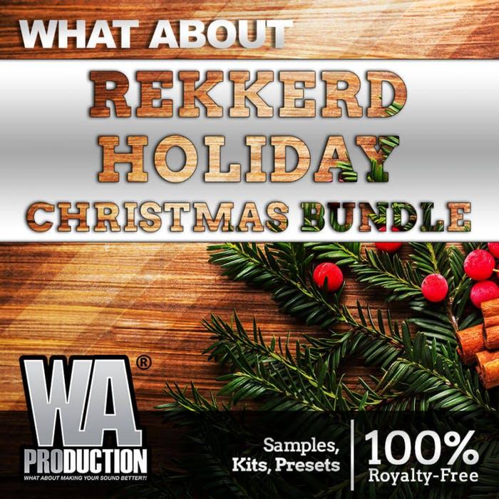 WA Production Rekkerd Holiday Christmas Bundle