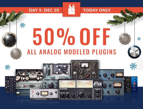 Waves Analog Modeled Sale