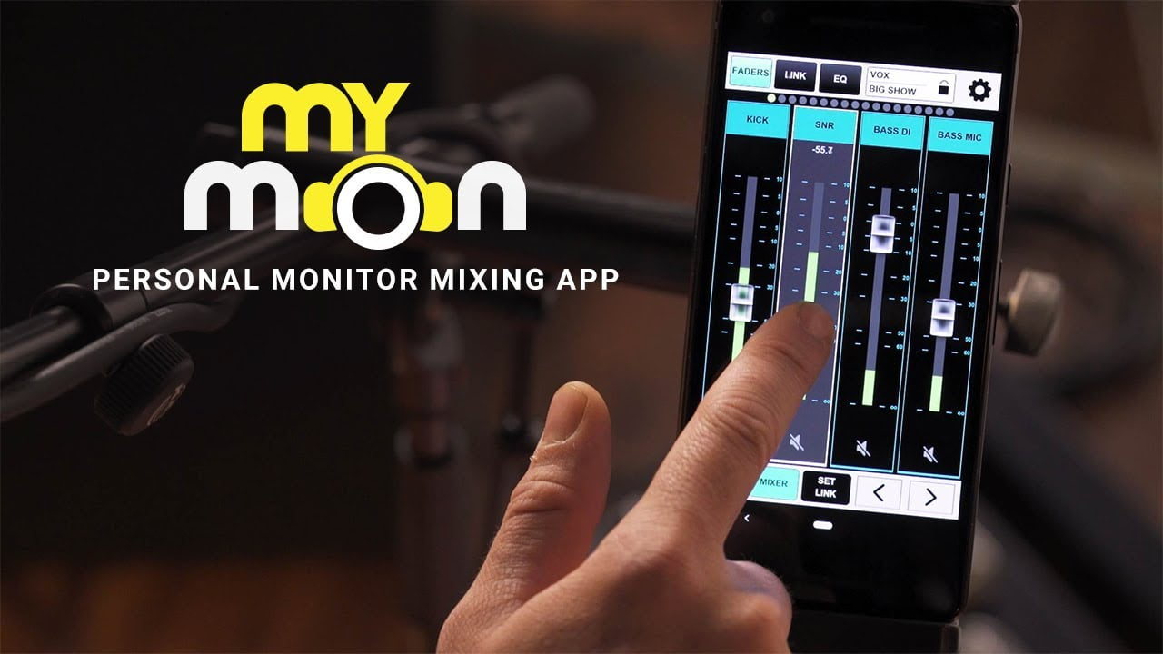 Waves Audio launches new features and MyMon Personal Mixing App for eMotion LV1 Live Mixer