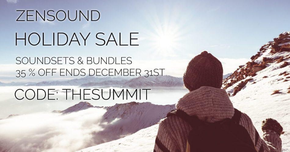 ZenSound Holiday Sale