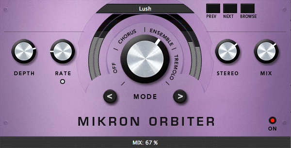 112dB Mikron Orbiter