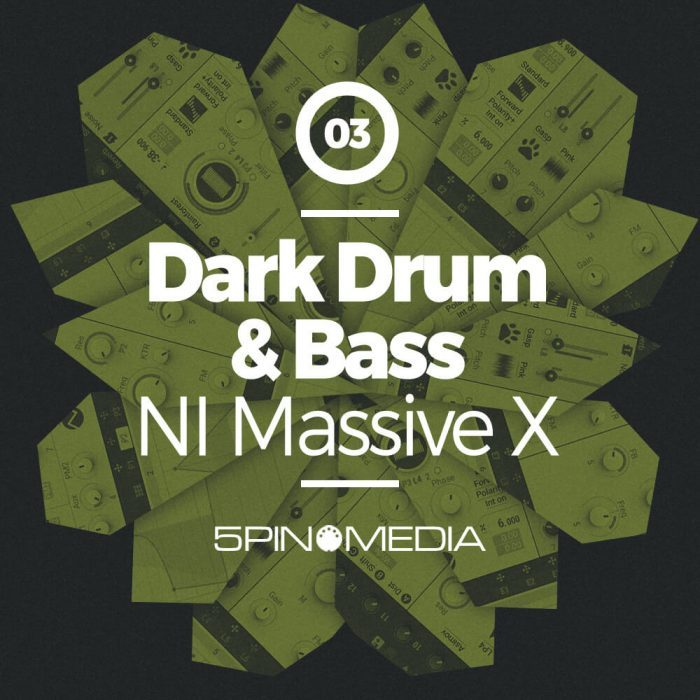 5Pin Media Dark Drum & Bass NI Massive X