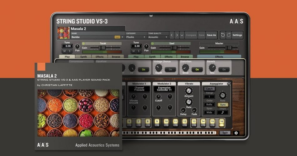 AAS Masala 2 for String Studio VS 3