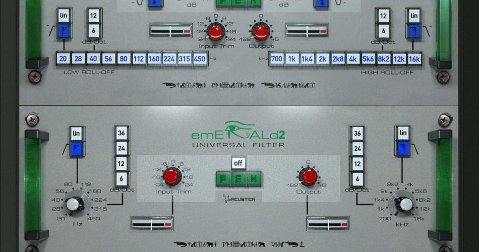 Acustica Audio Emerald2