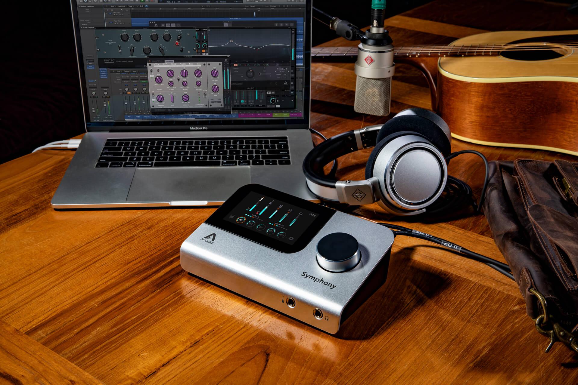 Apogee Symphony Desktop 10×14 audio interface introduced