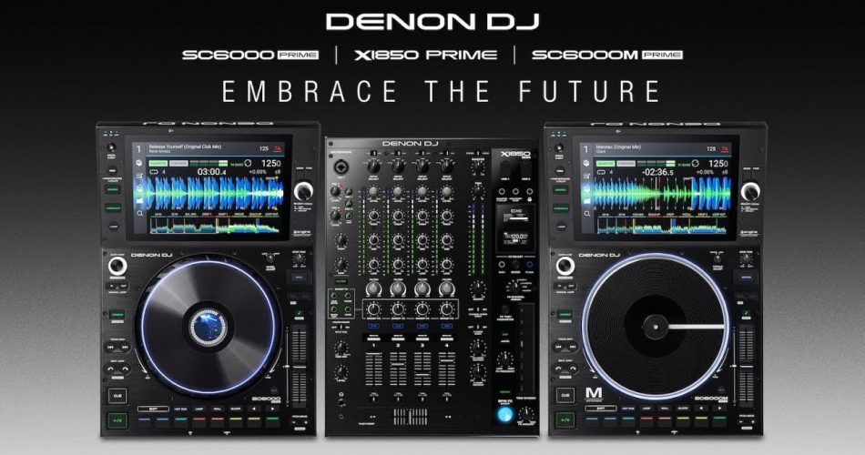 Denon DJ X1850 SC6000 SC6000M