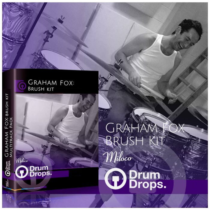 DrumDrops Graham Fox Brush Kit