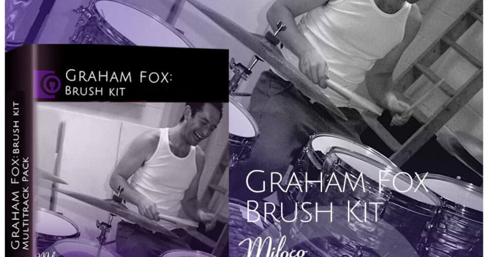 DrumDrops Graham Fox Brush Kit