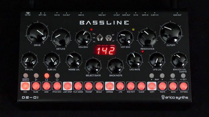 Erica Synths Bassline DB 01