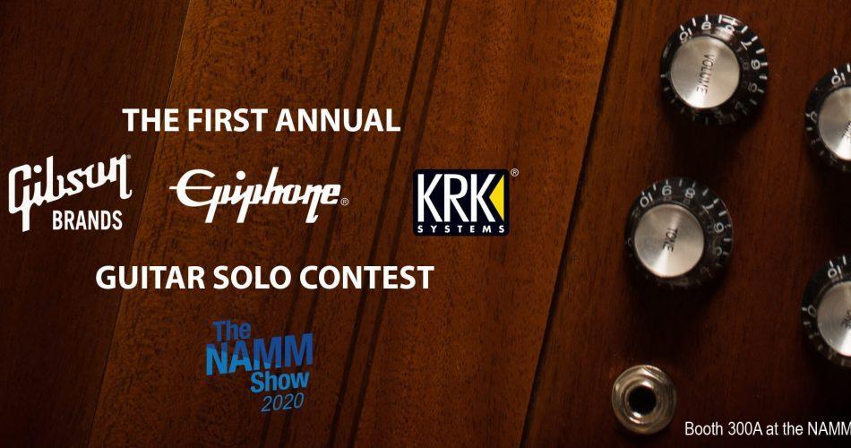 Gibson Epiphone KRK Guitar Solo Namm