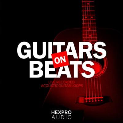 HexPro Audio Guitars On Beats Trap Guitar Loops