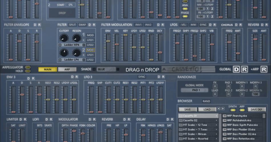 Homegrown Sounds Cassetto DND