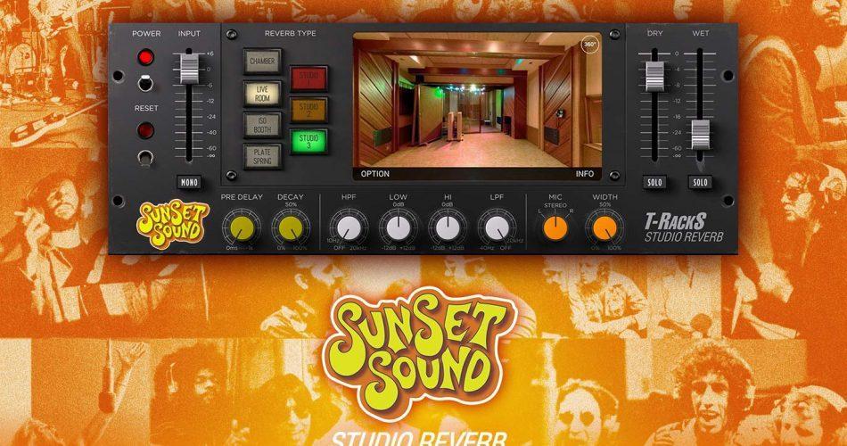 IK Multimedia T RackS Sunset Sound Studio Reverb