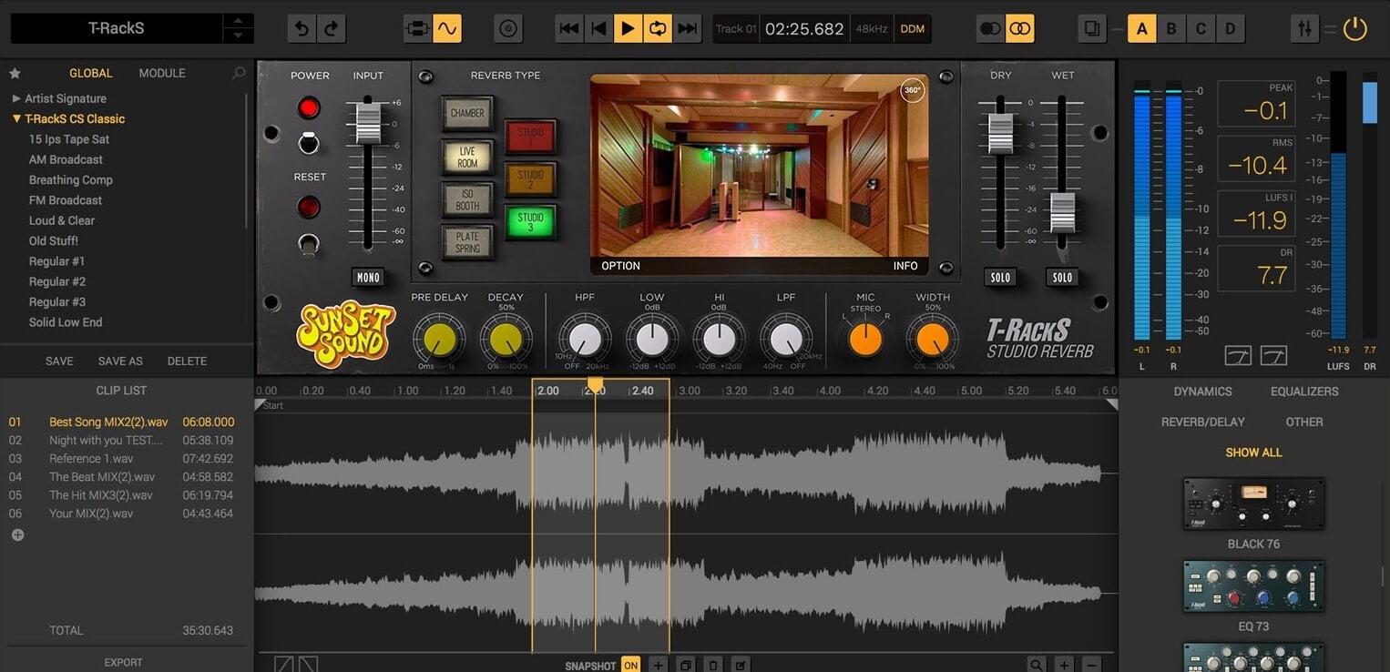 Sunset Sound Studio Reverb recreates iconic studio's sounds and spaces