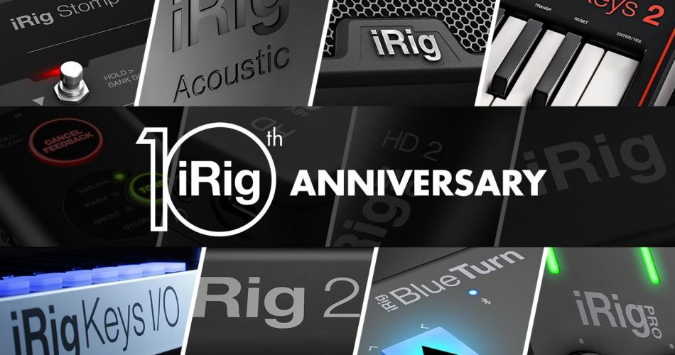 IK Multimedia iRig 10th Anniversary
