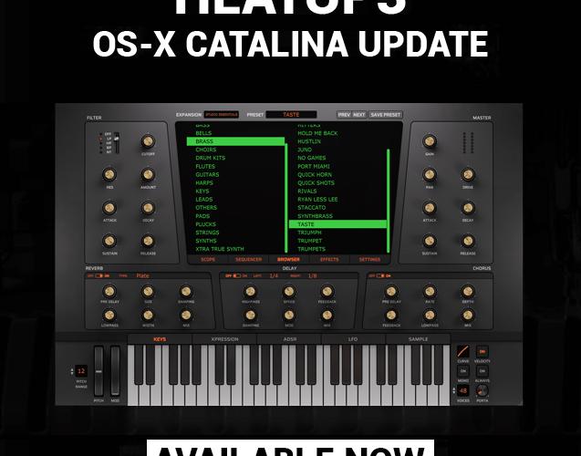 Initial Audio HeatUp3 Catalina