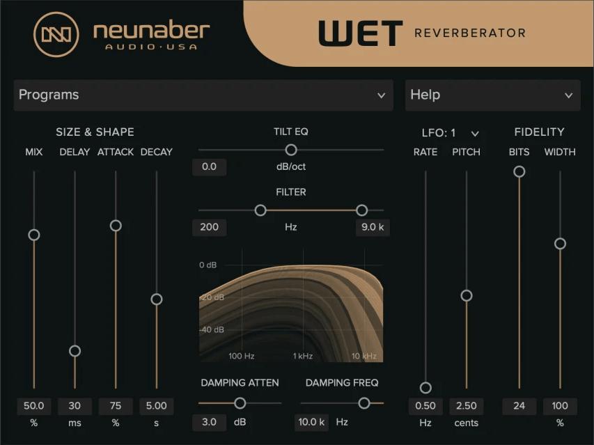 Neunaber Audio intros Wet Reverberator audio effect plugin