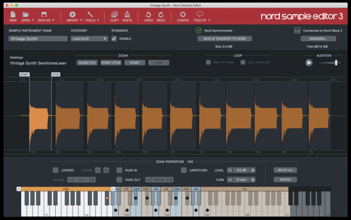 Nord Sample Editor 3