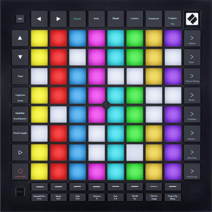 Novation Launchpad Pro MK3 sessionmode overhead