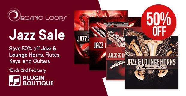 Organic Loops Jazz sale
