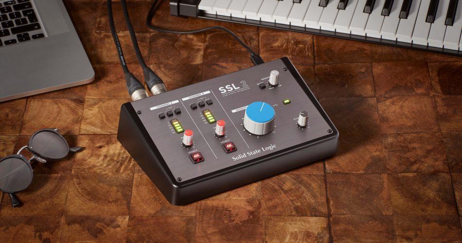 SSL2 audio interface