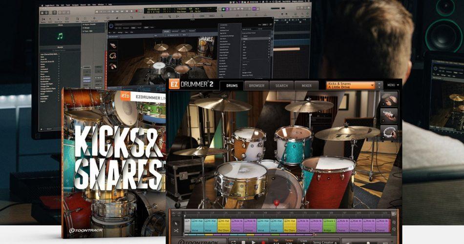 Toontrack Kicks & Snares EZX