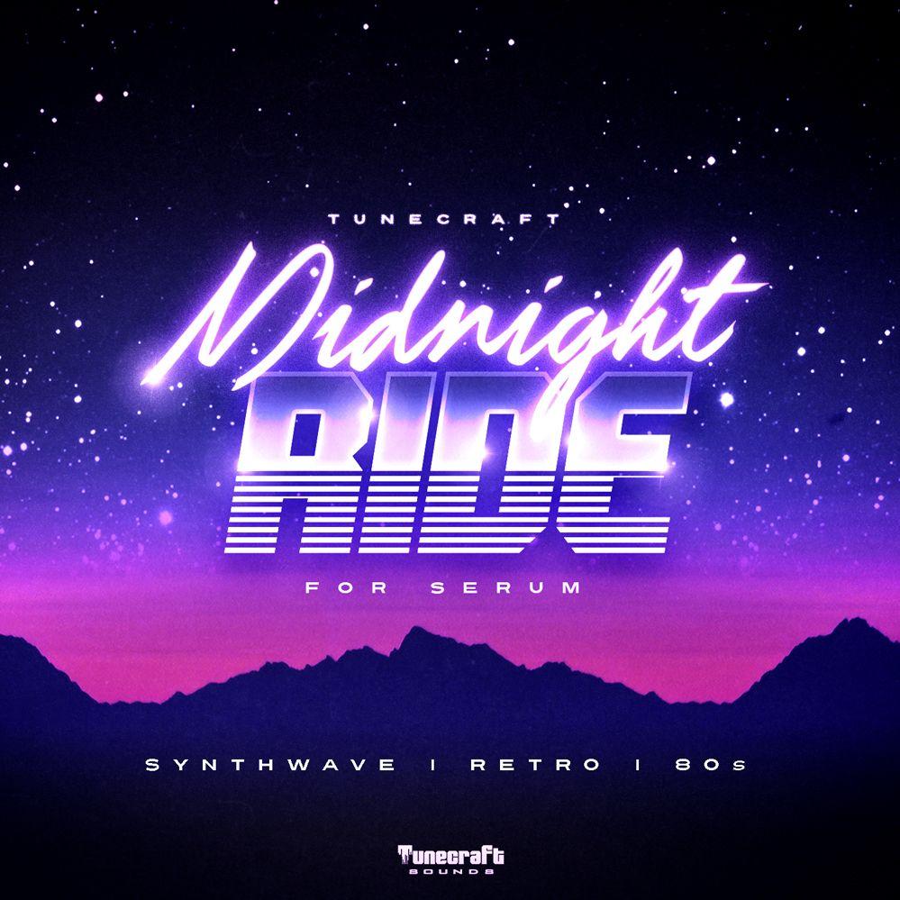 Get 20% off Tunecraft's Midnight Ride for Serum sound pack