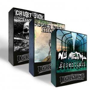 Ugritone Crust Punk, Power Metal and Nu Metal MIDI