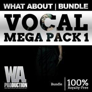 WA Production Vocal Mega Pack 1