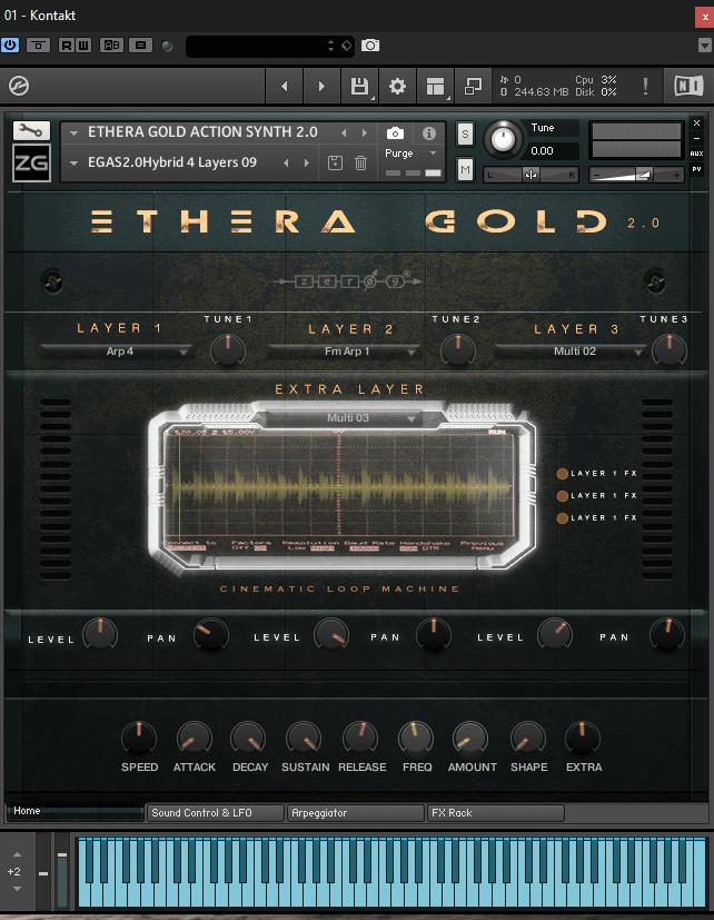 Zero-G Ethera 2