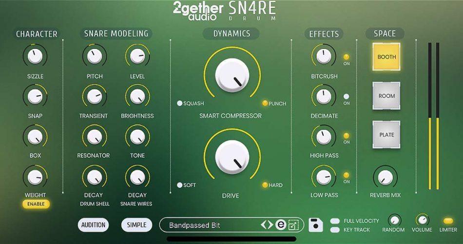 2getheraudio SN4RE Drum