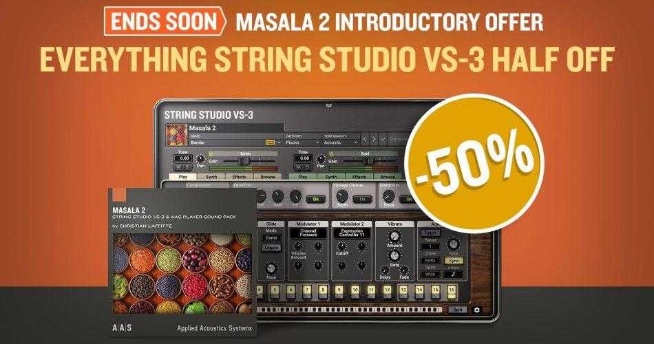 AAS String Studio VS3 Masala Sale