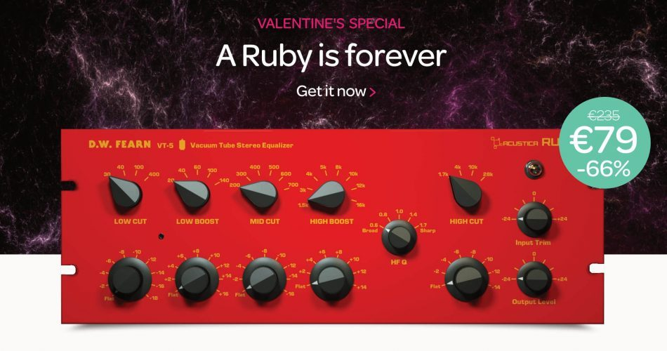 Acustica Audio Ruby Sale