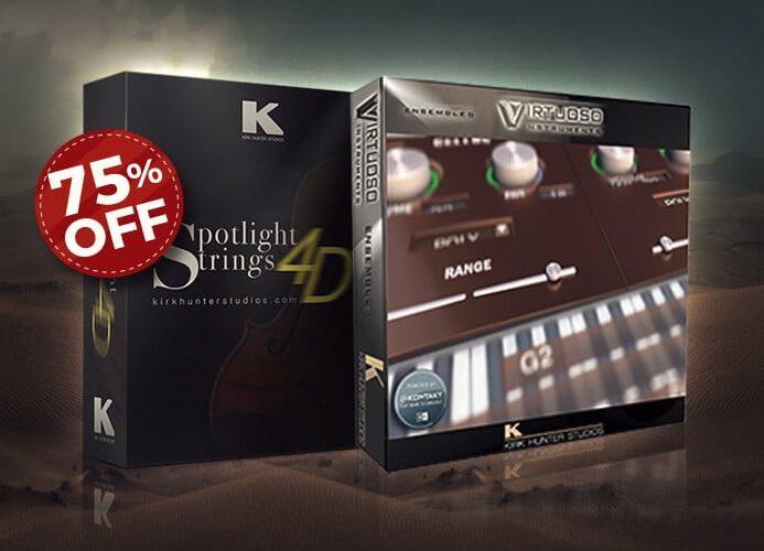 Audio Plugin Deals Kirk Hunter Strings Bundle Sale