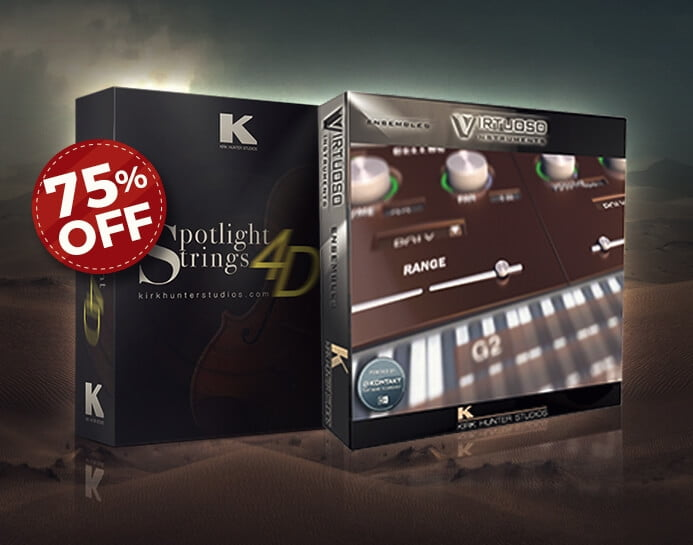 Audio Plugin Deals Kirk Hunter Strings Bundle Sale