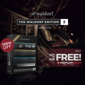 Audio Plugin Deals Waldorf 2 LE FREE