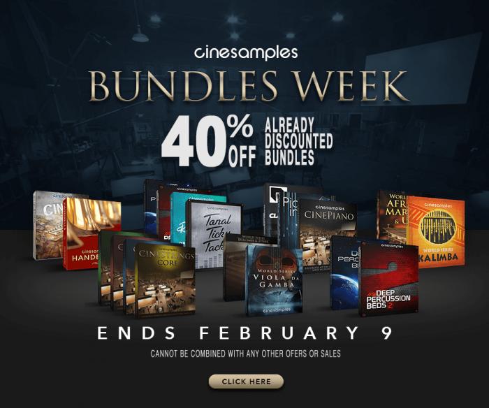 Cinesamples Bundles Week