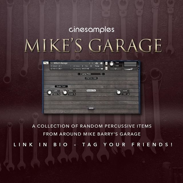 Cinesamples Mikes Garage