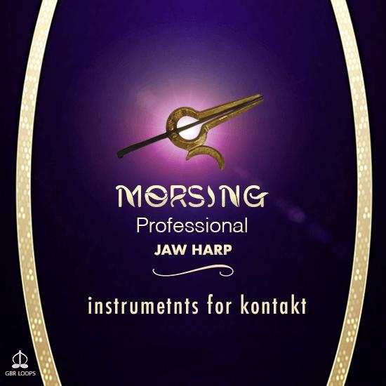 GBR Loops Morsing Professional Jaw Harp